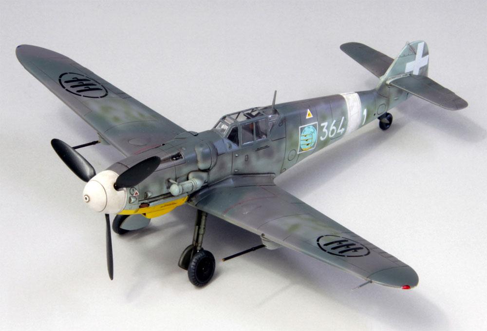 メッサーシュミット Bf109G-6 イタリア空軍プラモデル(ファインモールド1/72 航空機No.75916)商品画像_1