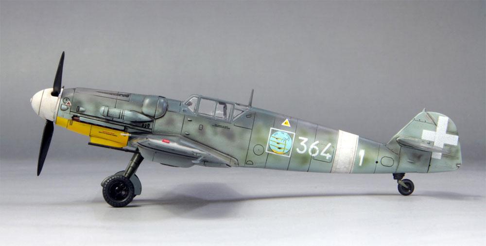 メッサーシュミット Bf109G-6 イタリア空軍プラモデル(ファインモールド1/72 航空機No.75916)商品画像_2