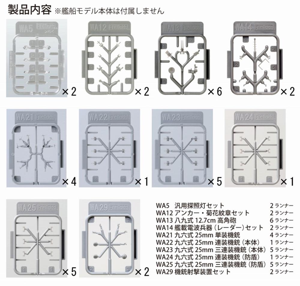 日本海軍 戦艦 榛名用セットプラモデル(ファインモールド1/700 ナノ・ドレッド シリーズNo.77925)商品画像_2