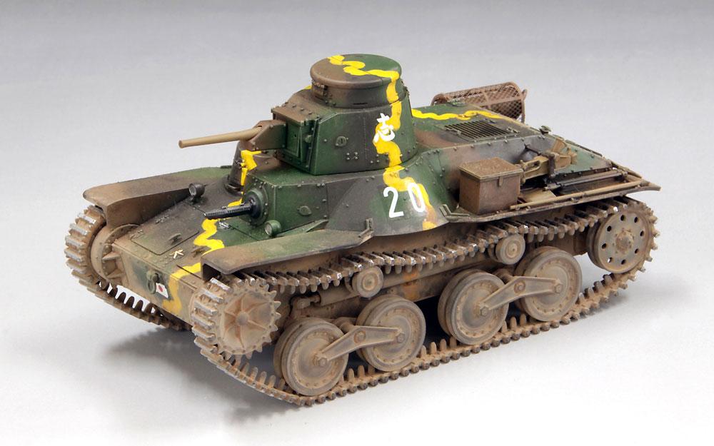 帝国陸軍 九五式軽戦車 ハ号 初期型 マレー電撃戦プラモデル(ファインモールド1/35 ミリタリーNo.FM058)商品画像_3