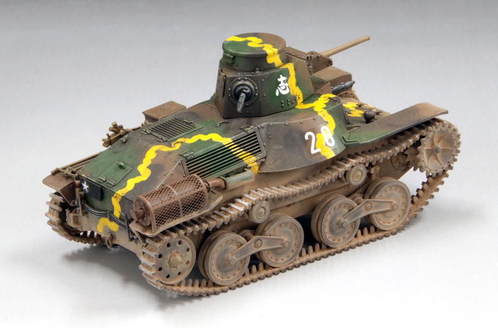 帝国陸軍 九五式軽戦車 ハ号 初期型 マレー電撃戦プラモデル(ファインモールド1/35 ミリタリーNo.FM058)商品画像_4