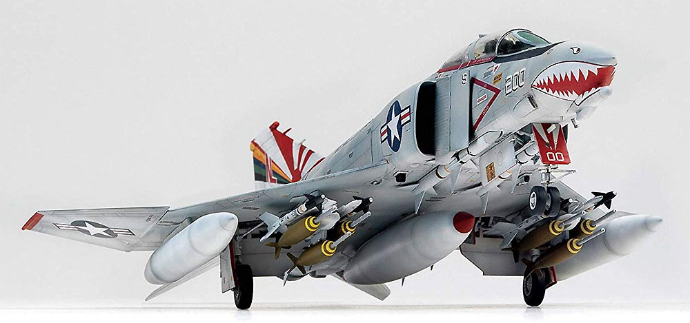 アメリカ海軍 F-4B ファントム 2 VF-111 サンダウナーズプラモデル(童友社凄! プラモデルNo.005)商品画像_3