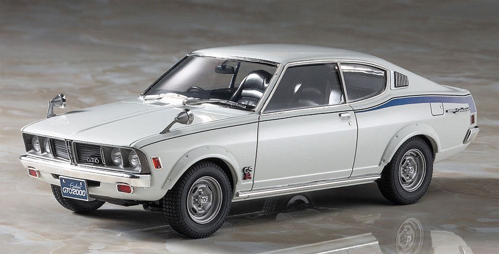 三菱 ギャラン GTO 2000GSR 前期型プラモデル(ハセガワ1/24 自動車 HCシリーズNo.HC030)商品画像_2