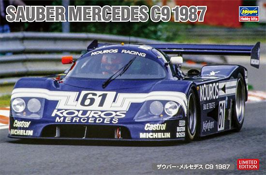 ザウバー メルセデス C9 1987プラモデル(ハセガワ1/24 自動車 限定生産No.20373)商品画像