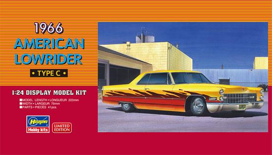 1966 アメリカン ローライダー タイプCプラモデル(ハセガワ1/24 自動車 限定生産No.20376)商品画像