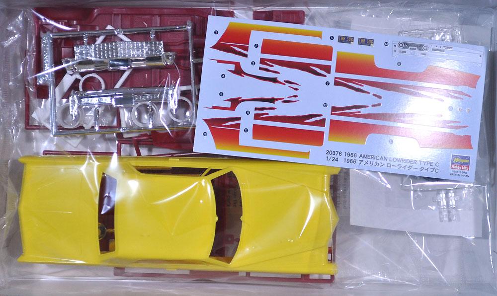 1966 アメリカン ローライダー タイプCプラモデル(ハセガワ1/24 自動車 限定生産No.20376)商品画像_1