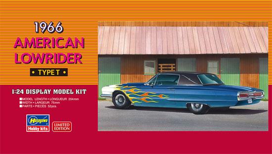 1966 アメリカン ローライダー タイプTプラモデル(ハセガワ1/24 自動車 限定生産No.20379)商品画像