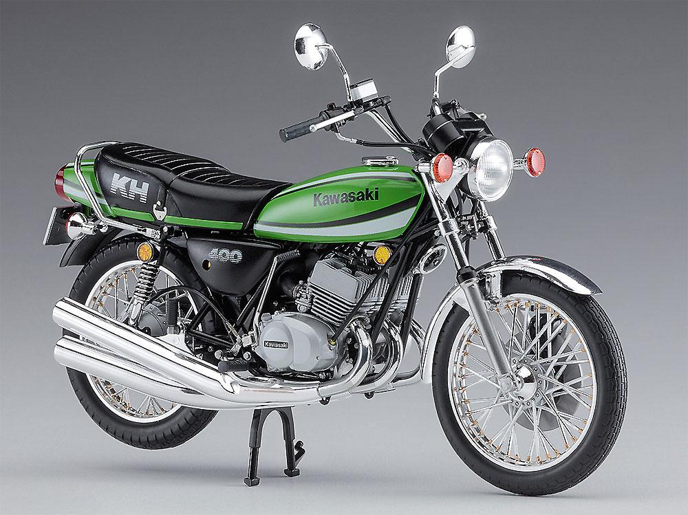 カワサキ KH400-A7プラモデル(ハセガワ1/12 バイクシリーズNo.BK-006)商品画像_2