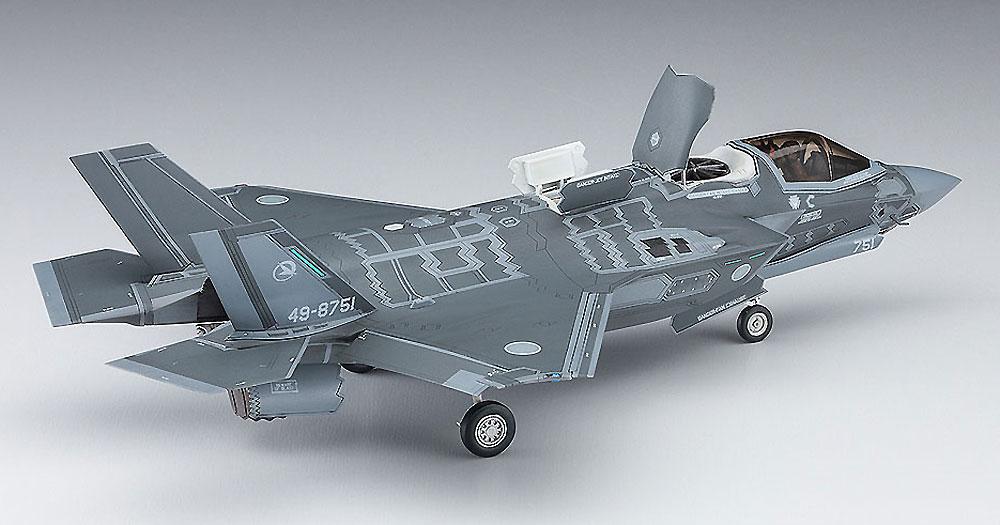 F-35 ライトニング 2 (B型) 航空自衛隊プラモデル(ハセガワ1/72 飛行機 限定生産No.02291)商品画像_3