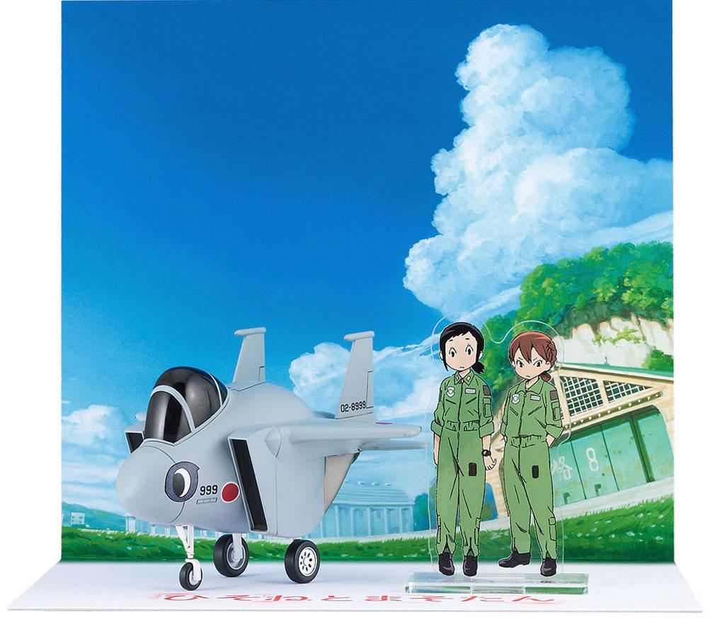 ひそねとまそたん たまごひこーき F-15プラモデル(ハセガワたまごひこーき シリーズNo.SP384)商品画像_3