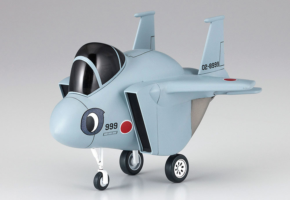 ひそねとまそたん たまごひこーき F-15プラモデル(ハセガワたまごひこーき シリーズNo.SP384)商品画像_4