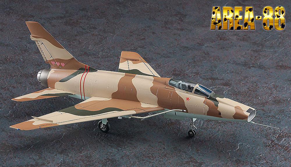 F-100D スーパーセイバー ミッキー サイモン (エリア88)プラモデル(ハセガワクリエイター ワークス シリーズNo.64772)商品画像_2