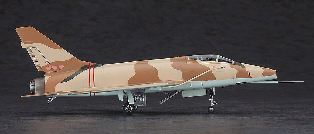 F-100D スーパーセイバー ミッキー サイモン (エリア88)プラモデル(ハセガワクリエイター ワークス シリーズNo.64772)商品画像_4