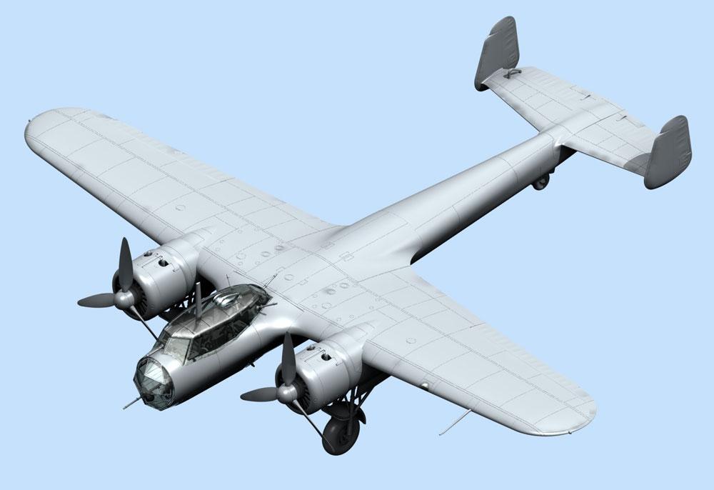 ドルニエ Do17Z-2 フィンランド空軍プラモデル(ICM1/72 エアクラフト プラモデルNo.72308)商品画像_2