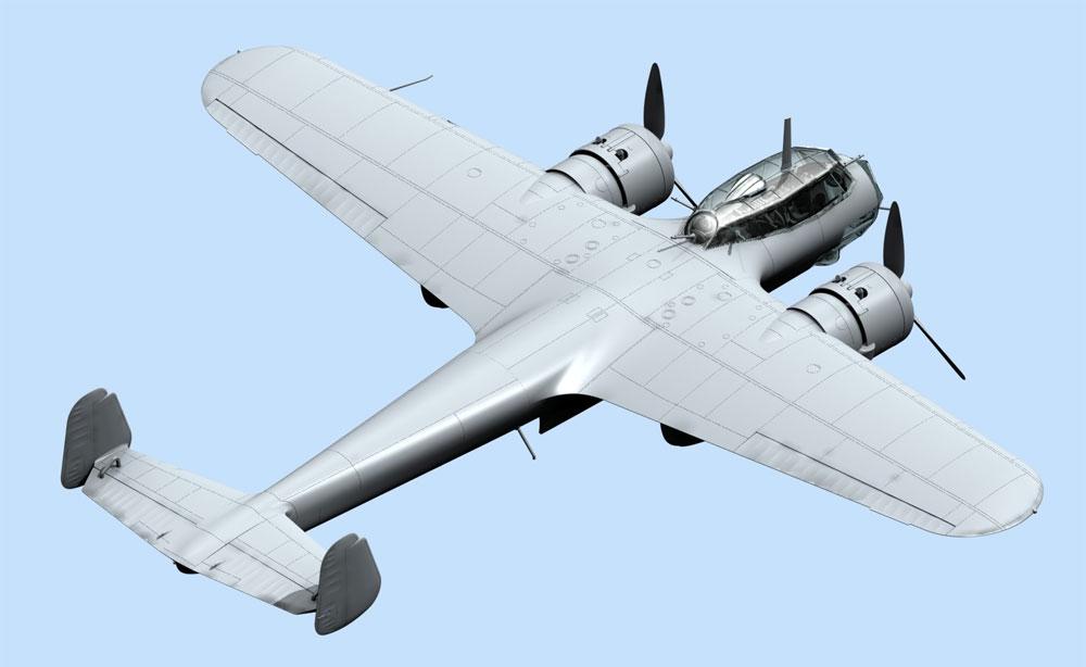 ドルニエ Do17Z-2 フィンランド空軍プラモデル(ICM1/72 エアクラフト プラモデルNo.72308)商品画像_3