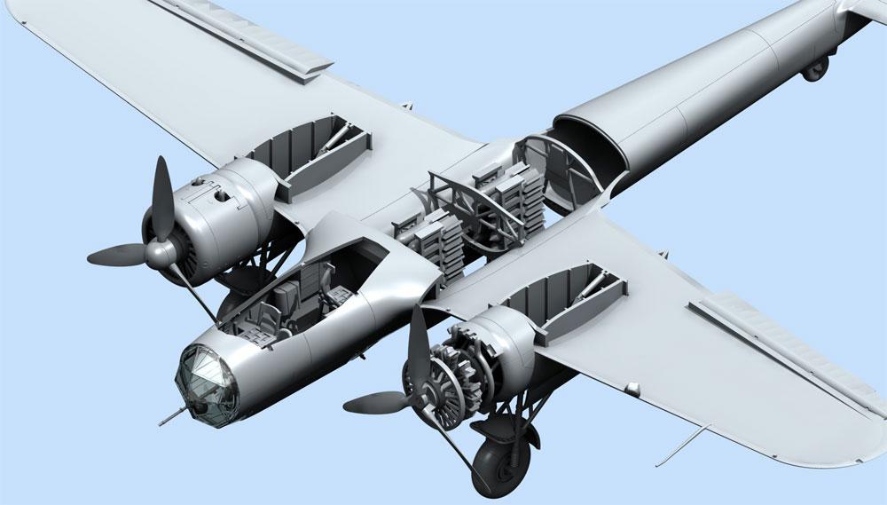 ドルニエ Do17Z-2 フィンランド空軍プラモデル(ICM1/72 エアクラフト プラモデルNo.72308)商品画像_4