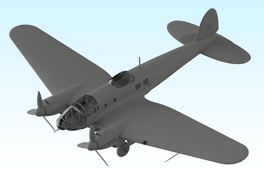 ハインケル He111H-16 爆撃機プラモデル(ICM1/48 エアクラフト プラモデルNo.48263)商品画像_2