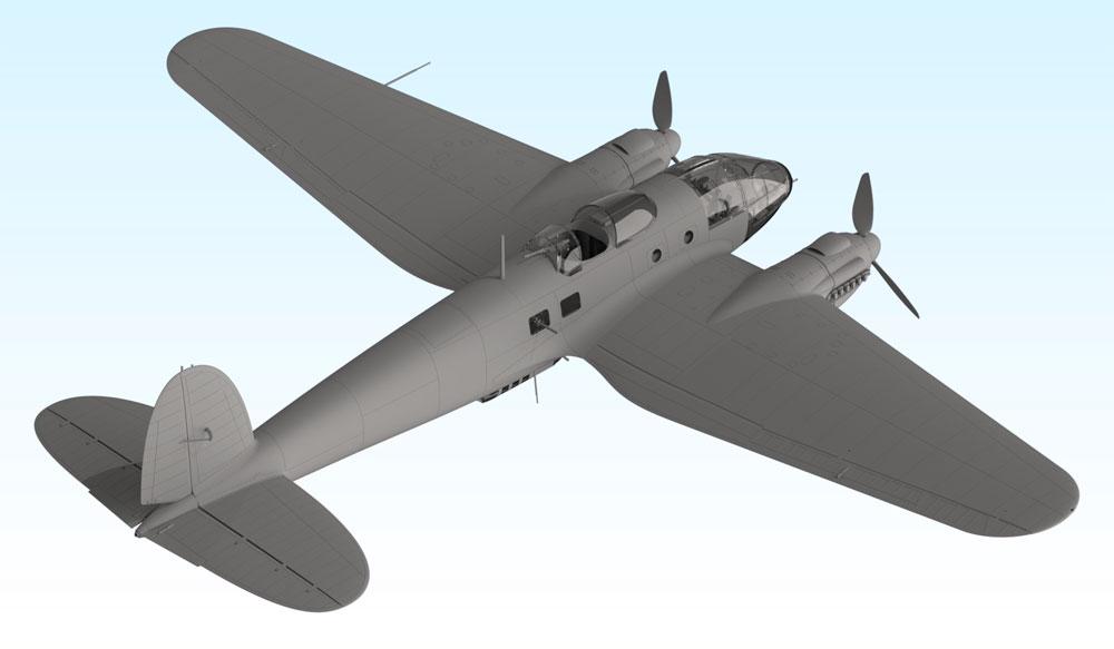 ハインケル He111H-16 爆撃機プラモデル(ICM1/48 エアクラフト プラモデルNo.48263)商品画像_3