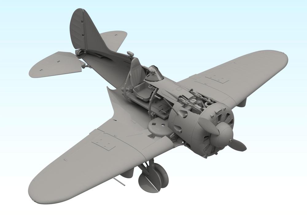 ポリカルポフ I-16 タイプ29プラモデル(ICM1/32 エアクラフトNo.32003)商品画像_4