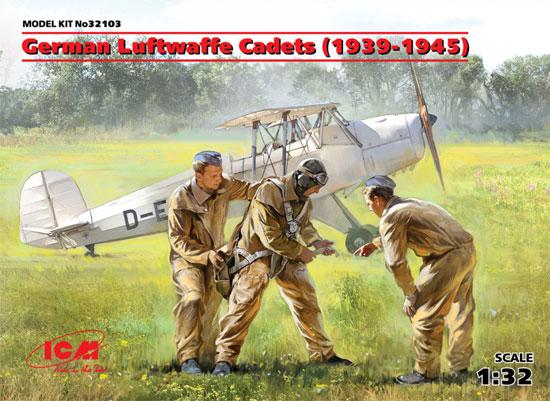ドイツ空軍 士官候補生セット 1939-1945プラモデル(ICM1/32 エアクラフトNo.32103)商品画像