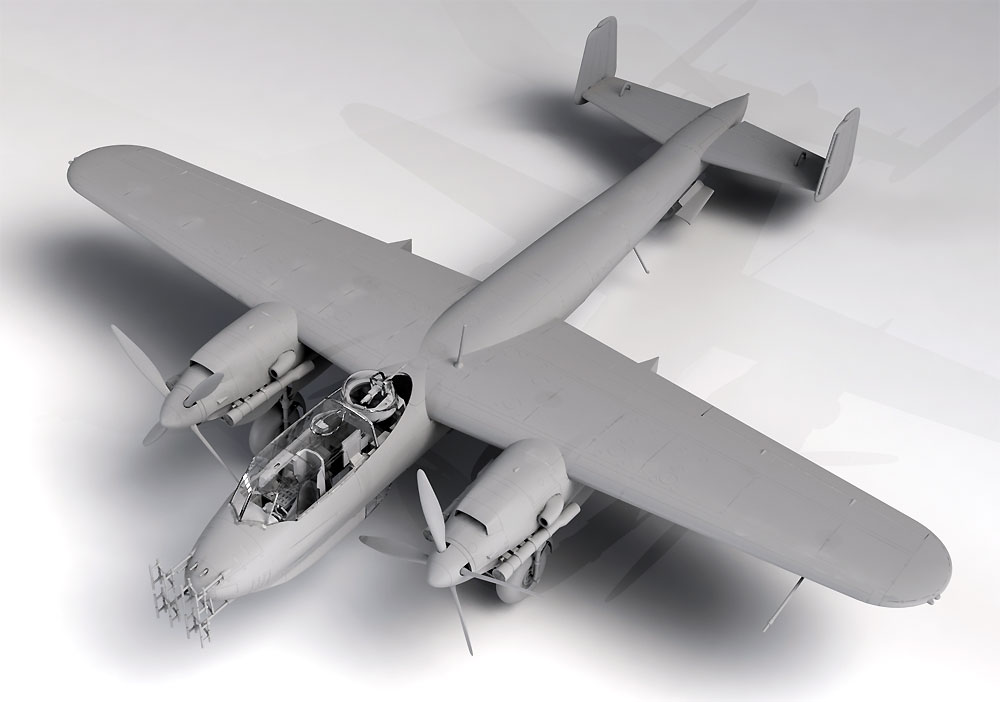 ドルニエ Do217N-1 夜間戦闘機プラモデル(ICM1/48 エアクラフト プラモデルNo.48271)商品画像_1