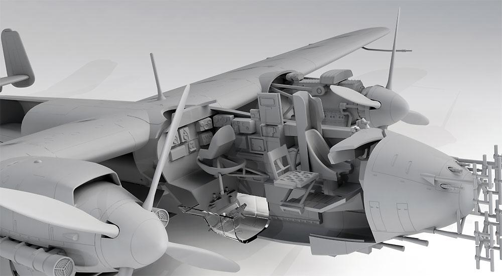 ドルニエ Do217N-1 夜間戦闘機プラモデル(ICM1/48 エアクラフト プラモデルNo.48271)商品画像_3