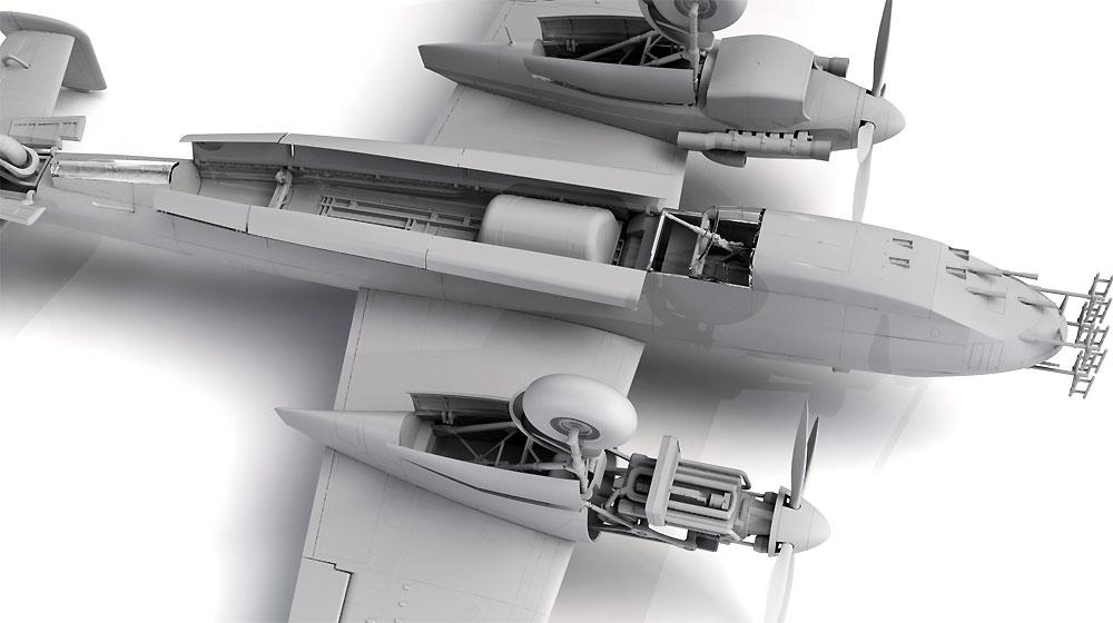 ドルニエ Do217N-1 夜間戦闘機プラモデル(ICM1/48 エアクラフト プラモデルNo.48271)商品画像_4