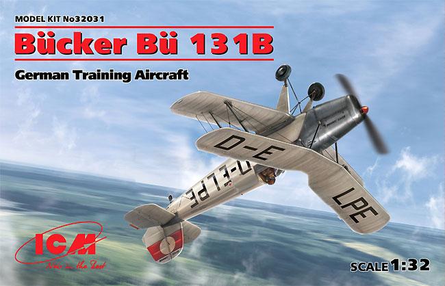 ビュッカー Bu131B ドイツ練習機プラモデル(ICM1/32 エアクラフトNo.32031)商品画像