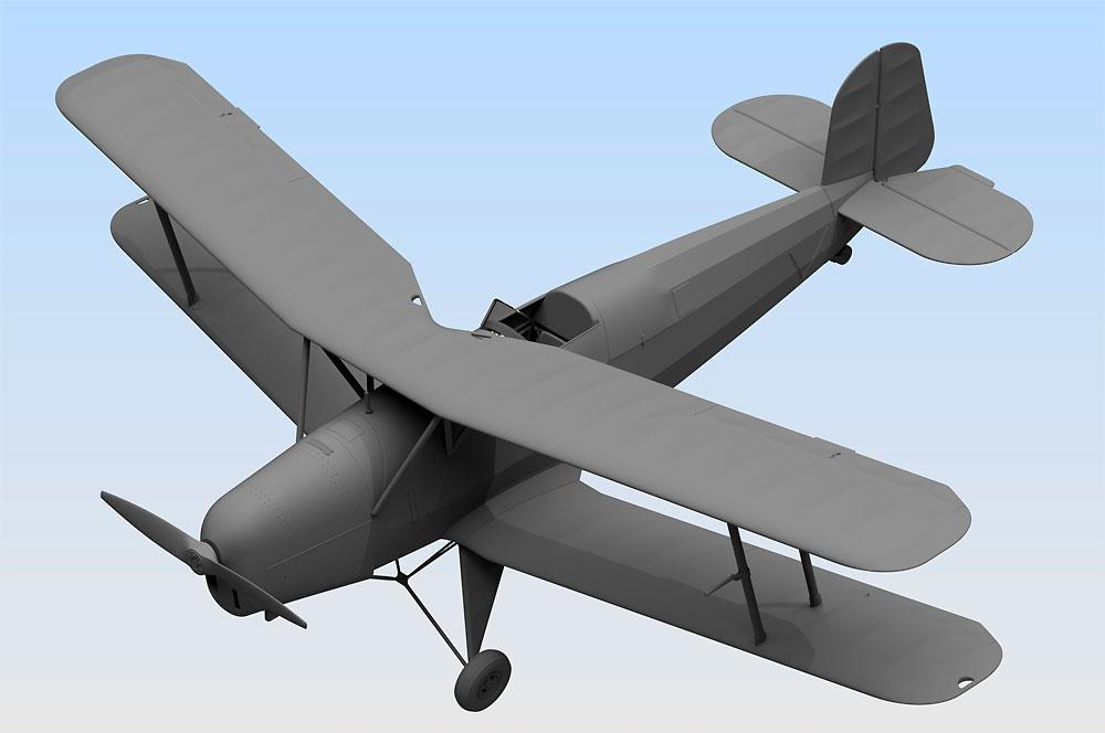 ビュッカー Bu131B ドイツ練習機プラモデル(ICM1/32 エアクラフトNo.32031)商品画像_2