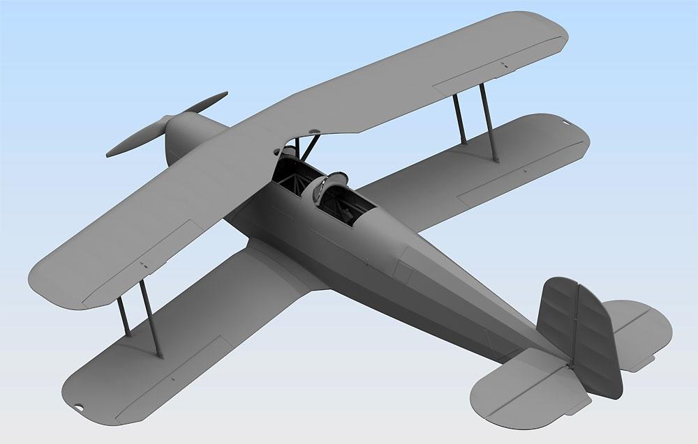 ビュッカー Bu131B ドイツ練習機プラモデル(ICM1/32 エアクラフトNo.32031)商品画像_3
