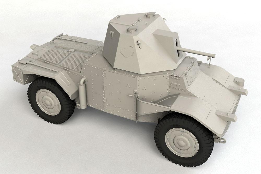 P204 (f) 装甲車 CDM砲塔搭載型プラモデル(ICM1/35 ミリタリービークル・フィギュアNo.35377)商品画像_2