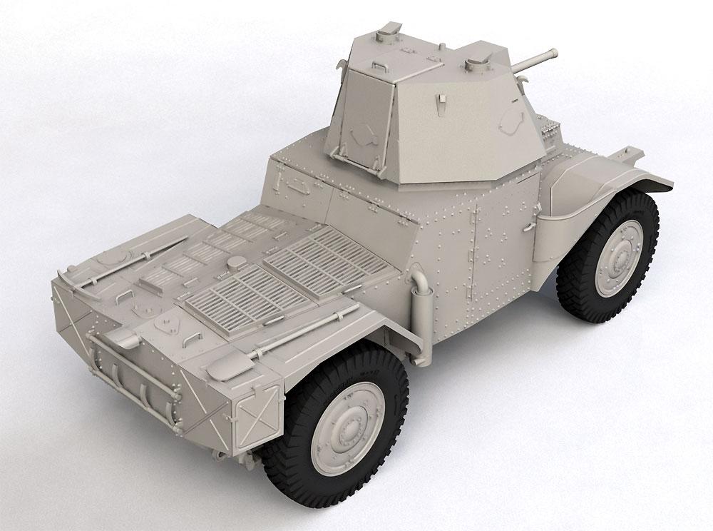 P204 (f) 装甲車 CDM砲塔搭載型プラモデル(ICM1/35 ミリタリービークル・フィギュアNo.35377)商品画像_3