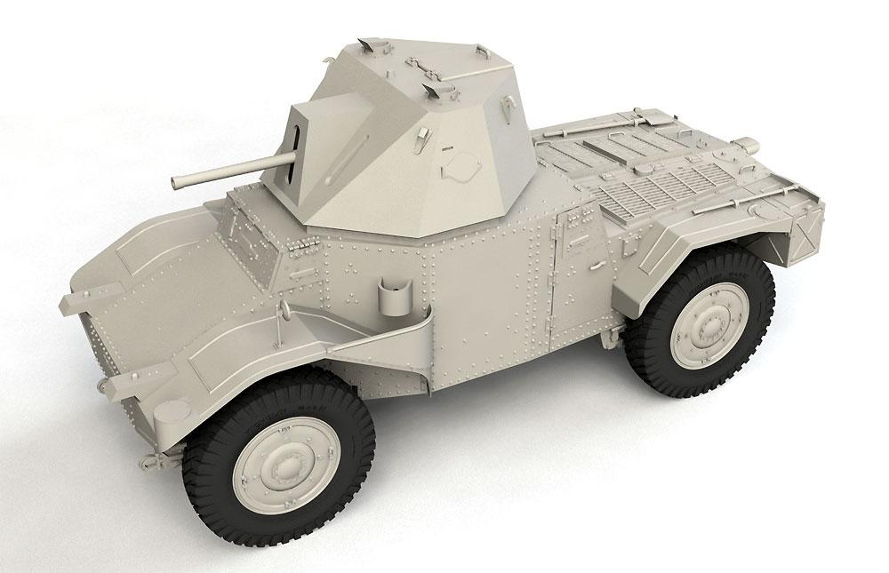 P204 (f) 装甲車 CDM砲塔搭載型プラモデル(ICM1/35 ミリタリービークル・フィギュアNo.35377)商品画像_4