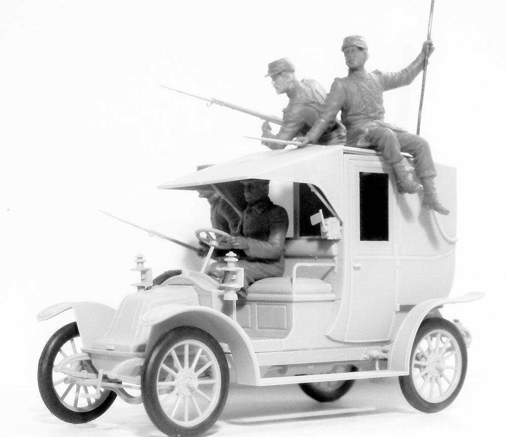 マルヌの戦い ルノータクシー w/フランス歩兵 1914プラモデル(ICM1/35 ミリタリービークル・フィギュアNo.35660)商品画像_3