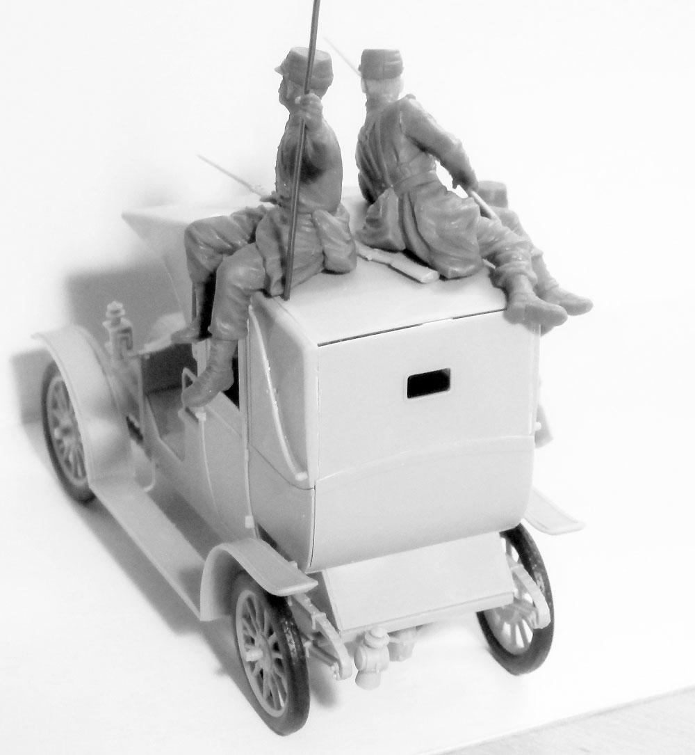 マルヌの戦い ルノータクシー w/フランス歩兵 1914プラモデル(ICM1/35 ミリタリービークル・フィギュアNo.35660)商品画像_4