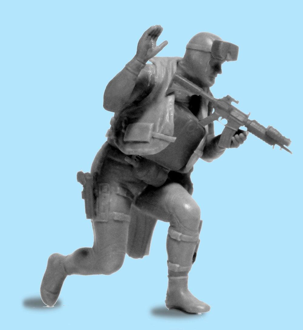 アメリカ海軍 特殊部隊 SEAL隊員 No.2プラモデル(ICM1/24 フィギュアNo.24112)商品画像_2