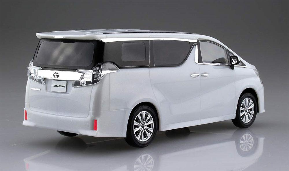 トヨタ ヴェルファイア ホワイトパールクリスタルシャインプラモデル(アオシマザ・スナップキットNo.004-A)商品画像_3