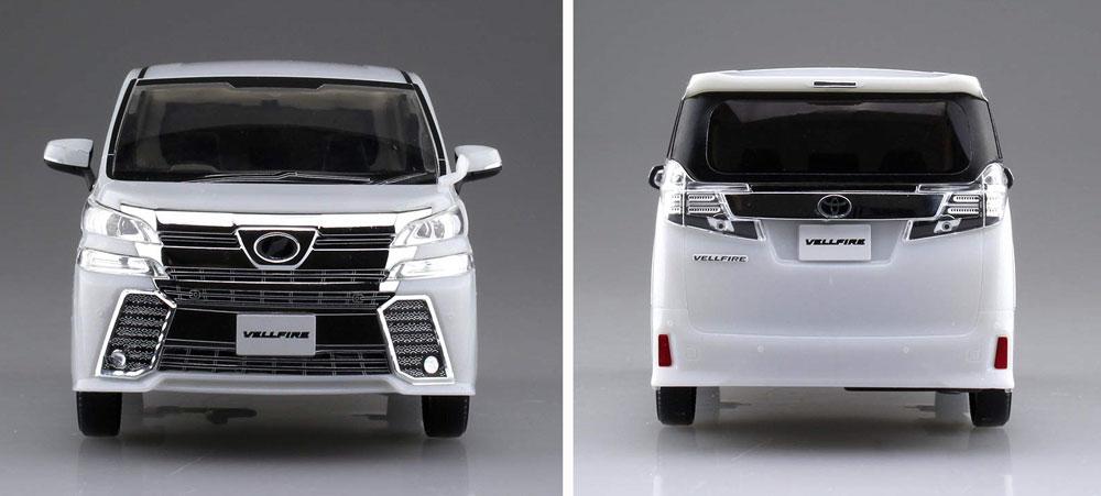 トヨタ ヴェルファイア ホワイトパールクリスタルシャインプラモデル(アオシマザ・スナップキットNo.004-A)商品画像_4