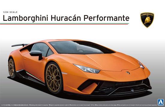 ランボルギーニ ウラカン ペルフォルマンテプラモデル(アオシマ1/24 スーパーカー シリーズNo.027)商品画像