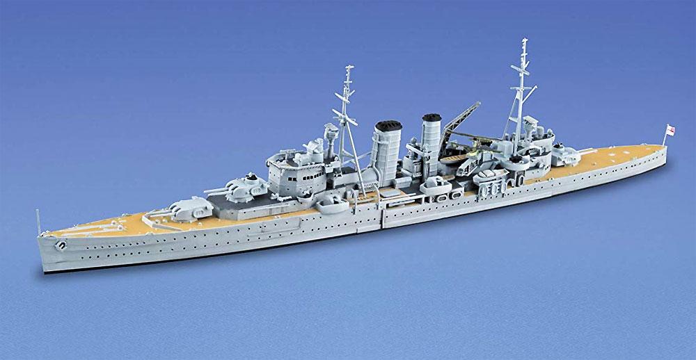 英国海軍 重巡洋艦 エクセタープラモデル(アオシマ1/700 ウォーターラインシリーズNo.807)商品画像_2