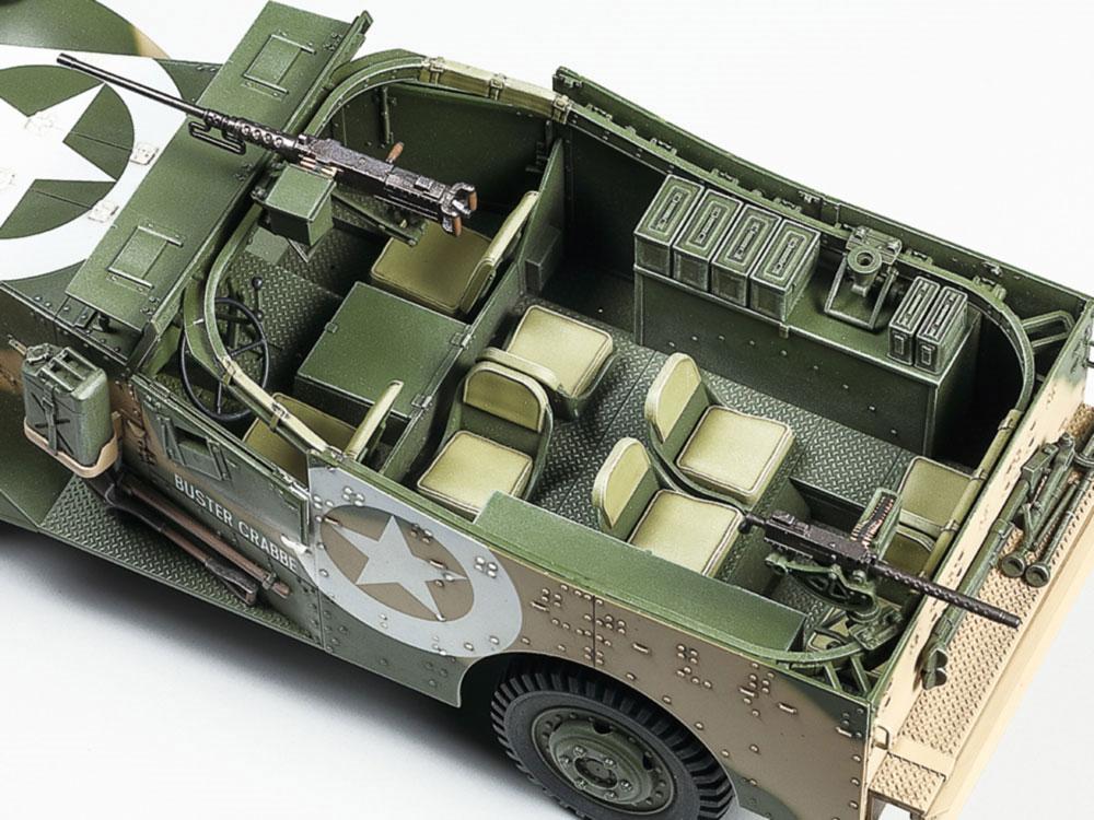 M3A1 スカウトカープラモデル(タミヤ1/35 ミリタリーミニチュアシリーズNo.363)商品画像_3