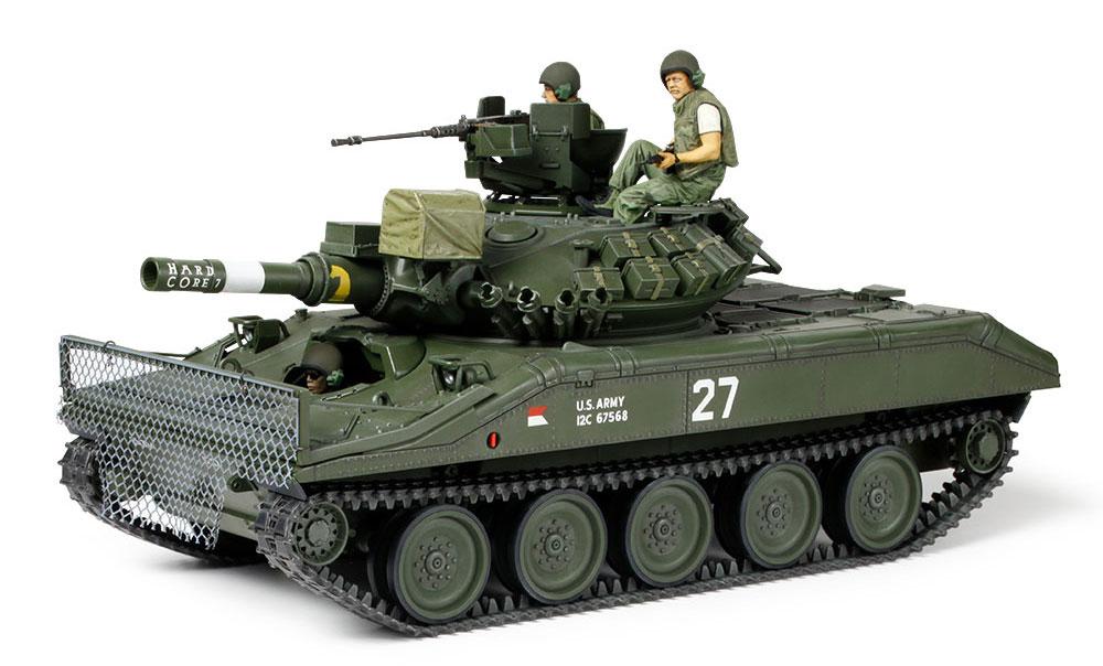 アメリカ 空挺戦車 M551 シェリダン ベトナム戦争プラモデル(タミヤ1/35 ミリタリーミニチュアシリーズNo.365)商品画像_2