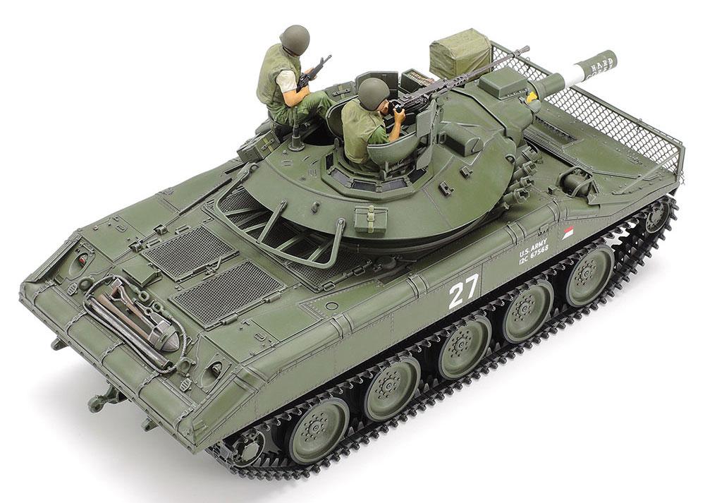 アメリカ 空挺戦車 M551 シェリダン ベトナム戦争プラモデル(タミヤ1/35 ミリタリーミニチュアシリーズNo.365)商品画像_3