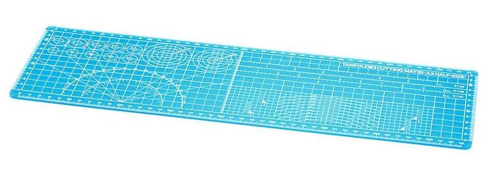 カッティングマットα (A3ハーフサイズ/ブルー)マット(タミヤタミヤ クラフトツールNo.144)商品画像_1