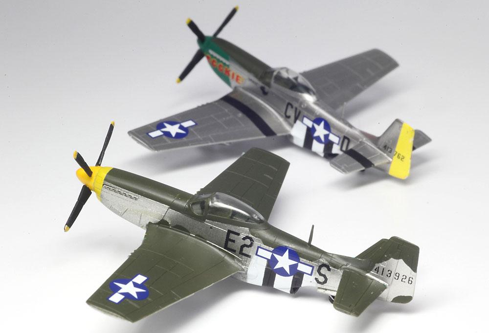 WW2 アメリカ軍 P-51D マスタングプラモデル(プラッツ1/144 プラスチックモデルキットNo.PDR-001)商品画像_2