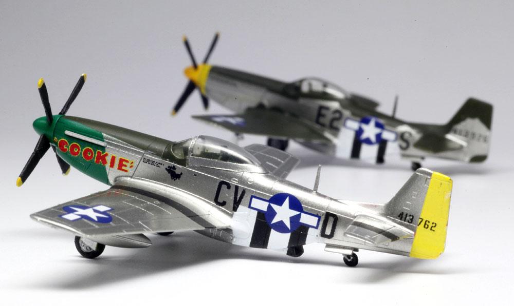 WW2 アメリカ軍 P-51D マスタングプラモデル(プラッツ1/144 プラスチックモデルキットNo.PDR-001)商品画像_3