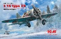 ICM1/32 エアクラフトポリカルポフ I-16 タイプ29