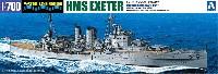 アオシマ1/700 ウォーターラインシリーズ英国海軍 重巡洋艦 エクセター