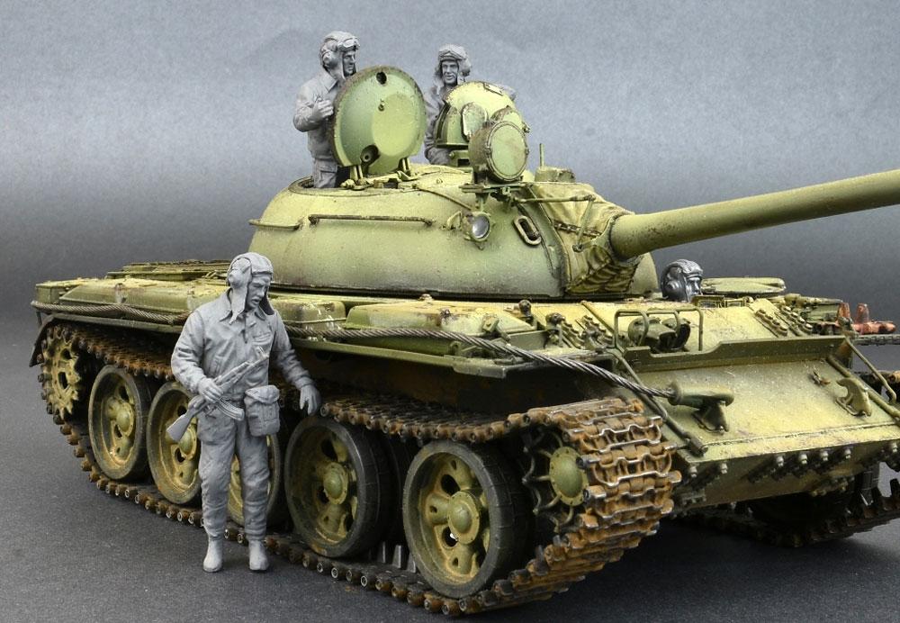 ソビエト 戦車兵 1960-70'sプラモデル(ミニアート1/35 ミリタリーミニチュアNo.37037)商品画像_4