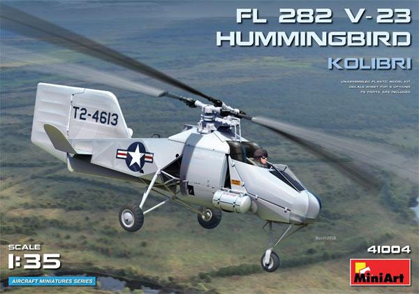 FL282 V-23 ハミングバード コリブリプラモデル(ミニアートエアクラフトミニチュアシリーズNo.41004)商品画像